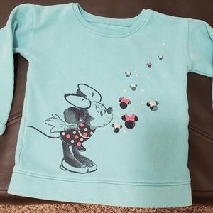 Minnie Mouse pull over sweater